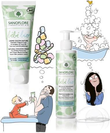 Линия для мам и малышей от Sanoflore (380x457, 210Kb)