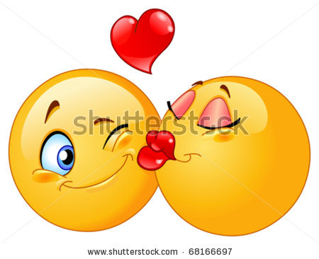 stock-vector-kissing-emoticons-68166697 (450x366, 31Kb)