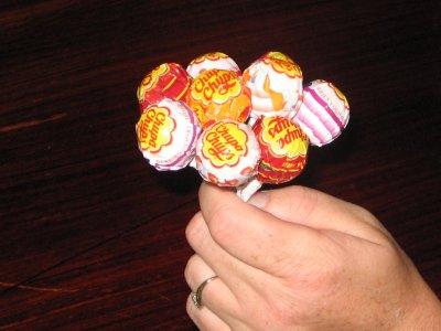 Букеты из конфет цветы своими руками