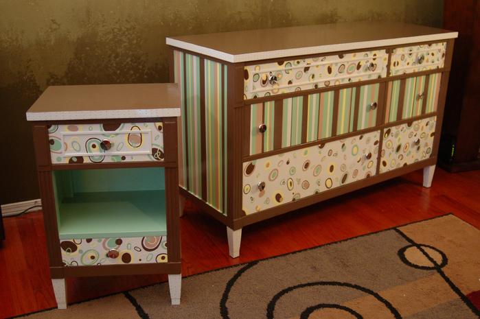 Мебель декорировать своими руками