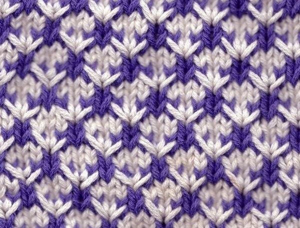 Двухцветное вязание | Записи в