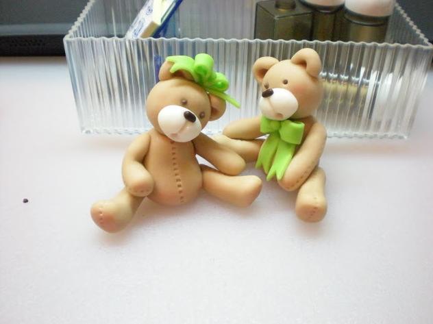 Медведь из мастики мастер класс