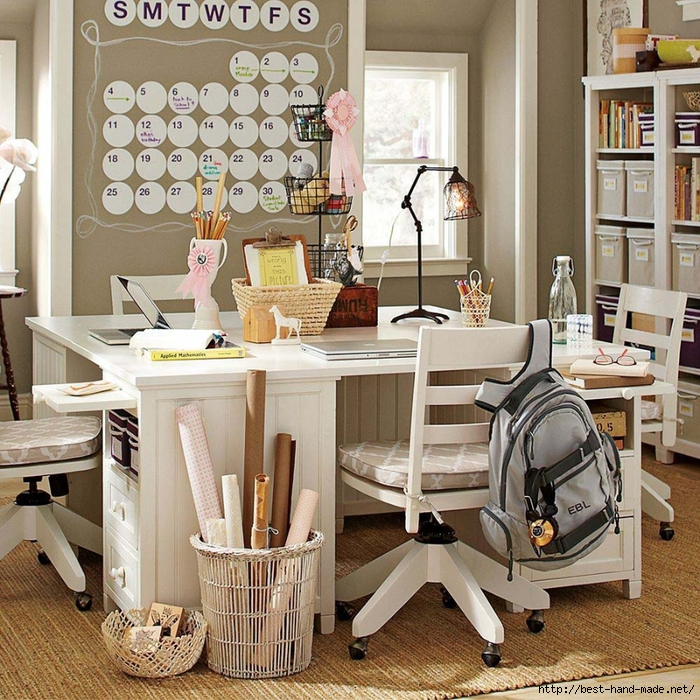 girls-white-desk-study-teen-rooms (700x700, 453Kb)