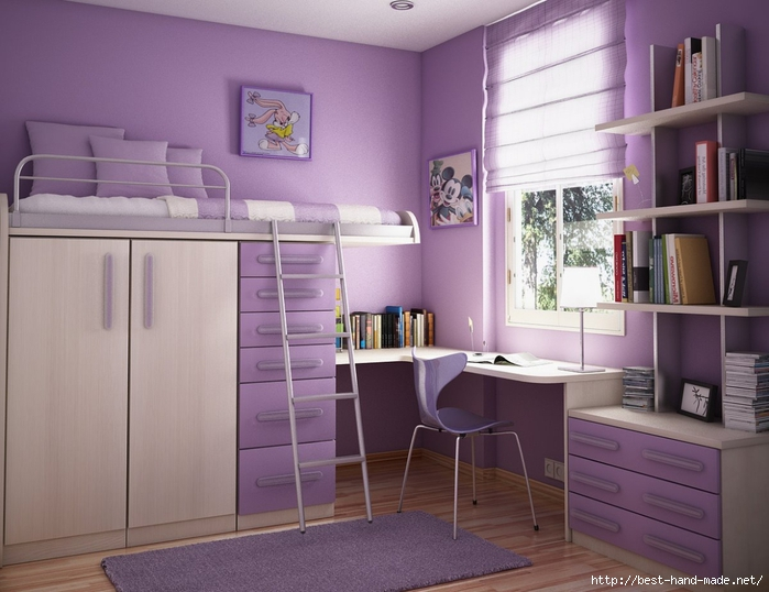 Modern-teen-room-in-purple (700x538, 241Kb)