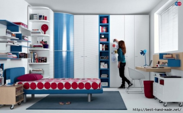 Teenager-Room-Design-Red-blue-beech-white-Contemporary (590x363, 109Kb)