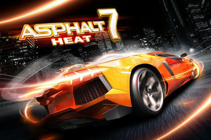 Чудеснейшие гонки для Ipad - Asphalt 7: Heat!