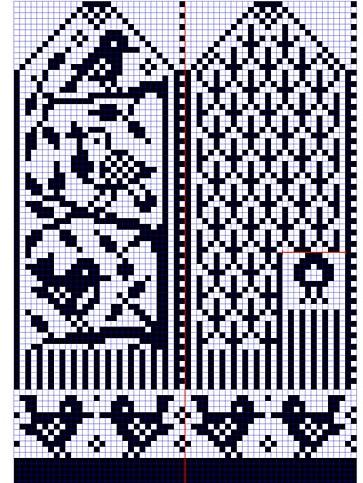 Далее еще схемы для вязания