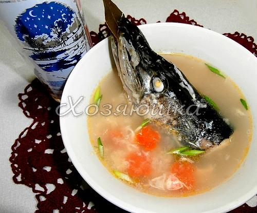 Рыбный суп из гольца рецепт