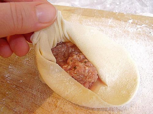 рецепт хинкали с мясом с фото