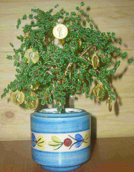 деревья из бисера инструкция - Лучшие схемы и описания для всех.