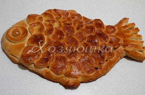 Пирог РЫБКА