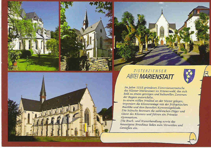 Mонастырь ордена цистерцианцев Мариенштатт 67516