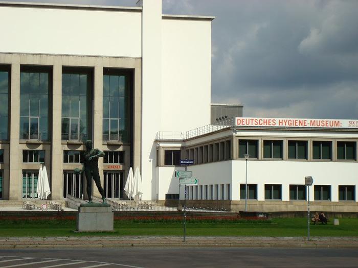 Немецкий музей гигиены (нем. Deutsches Hygiene-Museum) в Дрездене. 35811
