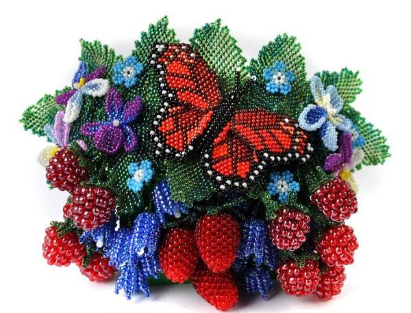 как можно продавать цветы из бисера в краснодаре работаю