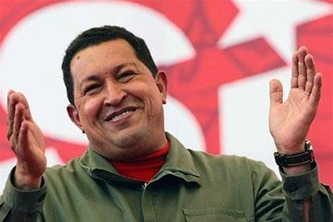 Фотографии фальшивого Уго Чавеса на первых полосах газет