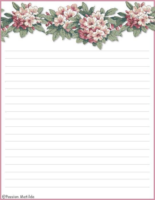 Лист Формата А4 Разлинованный