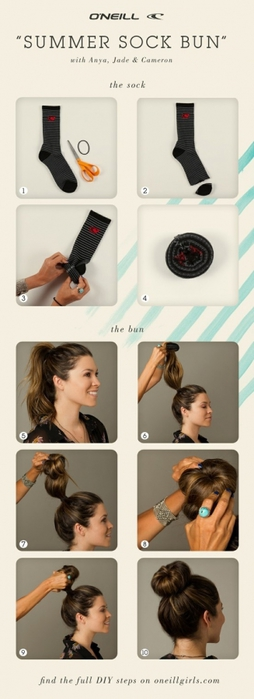 Как сделать красивую гульку с фото