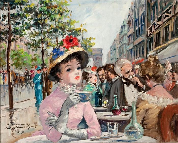 Francois Gerome - French Impressionist painter - Tutt'Art@ (700x564, 369Kb)