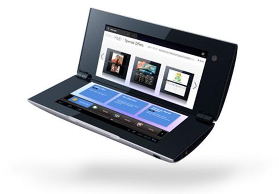 Android смартфон с двумя экранами Фотографии