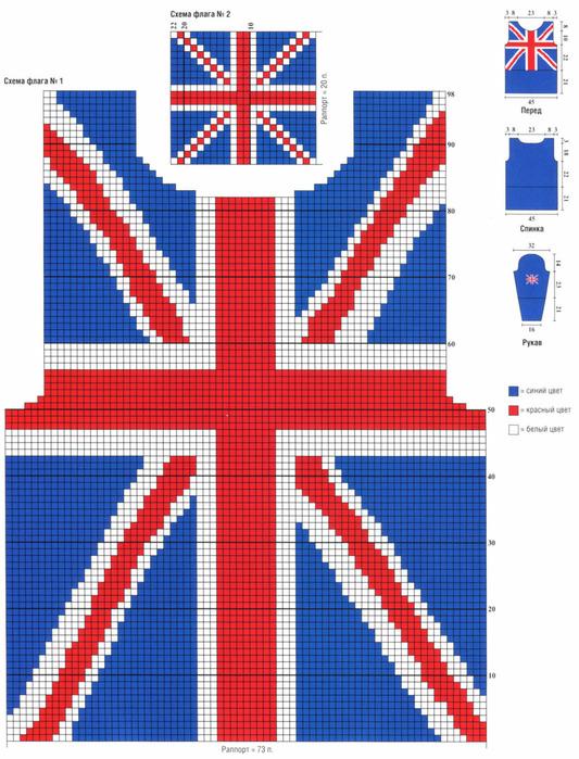 "Свитер ""Британский флаг"""