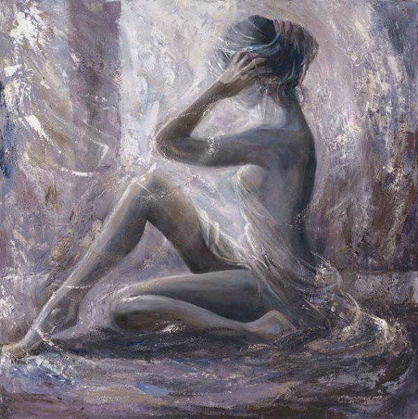 Karen Wallis - British Figurative painter - Tutt'Art@ (53) (599x600, 100Kb)