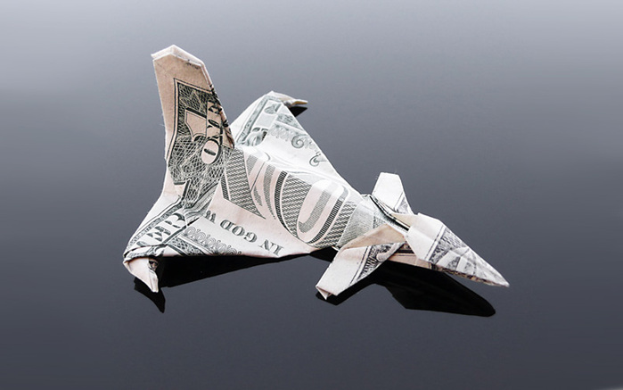 оригами из денег фото 4 (700x437, 67Kb)
