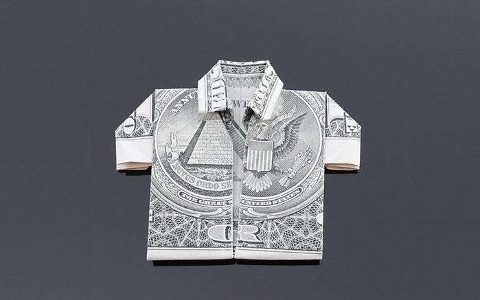 оригами из денег фото 5 (700x437, 134Kb)