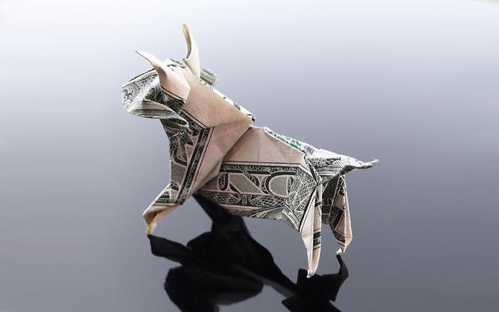 оригами из денег фото 8 (700x437, 56Kb)