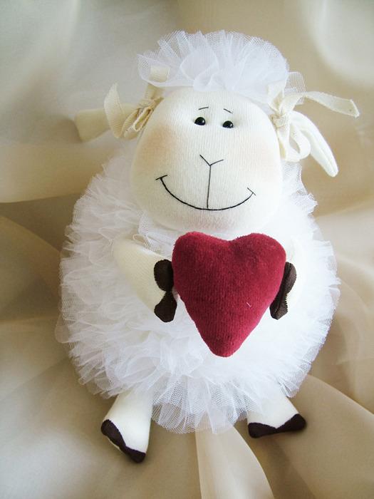 Шьем барашка и овечку. Обсуждение на ...: www.liveinternet.ru/users/4069756/post258424137