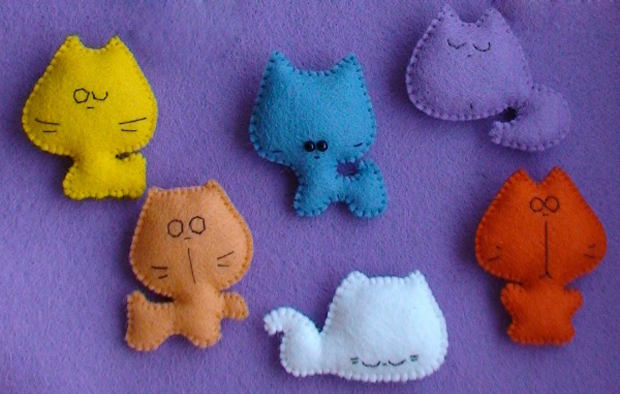 Маленькие игрушки сшить своими руками