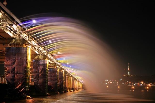 мост бонпо в сеуле фото 4 (640x426, 73Kb)
