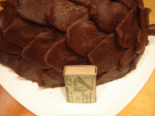 Торт кедровая шишка фото