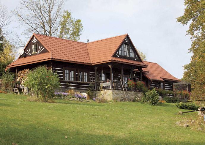 Дизайн простого деревенского дома