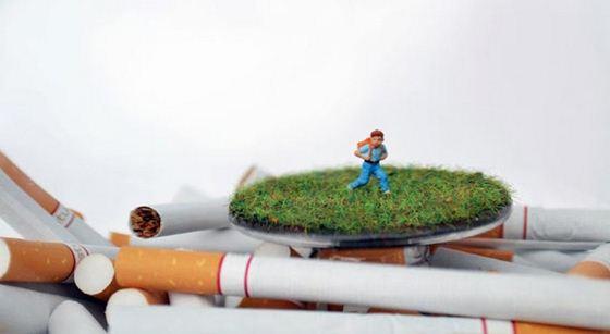Джесс Бромм. Смертельные пейзажи с костями, сигаретами и оружием