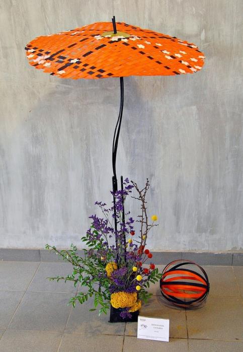 Декоративный зонтик своими руками