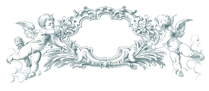 cherub-frame-Vintage-GraphicsFairy-teal (700x305, 115Kb)