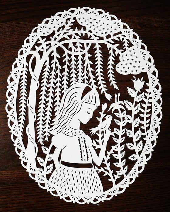 волшебные иллюстрации художницы Sarah Trumbauer/1359415326_1 (560x700, 404Kb)