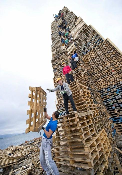 огненная башня Олесунн фото 1 (487x700, 268Kb)