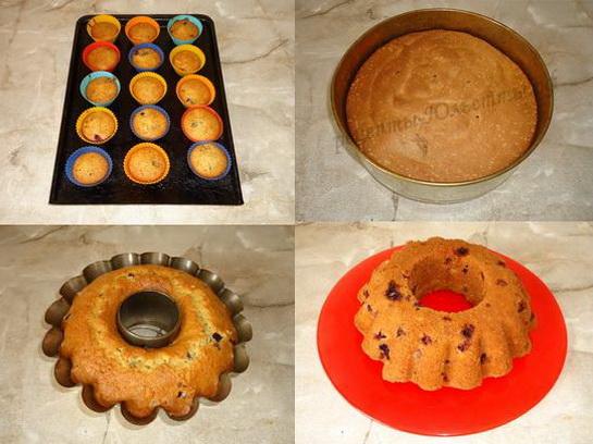 Как вытащит кекс из железной формы