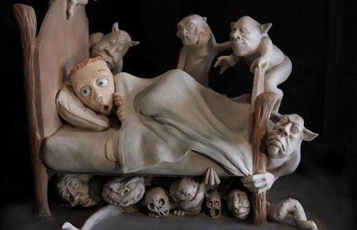 Забавные скульптуры Рэнди Хэнда