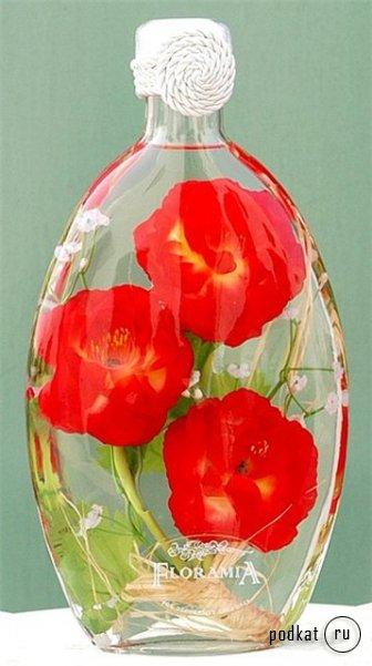 Купить цветы в бутылке купить уличные цветы украина