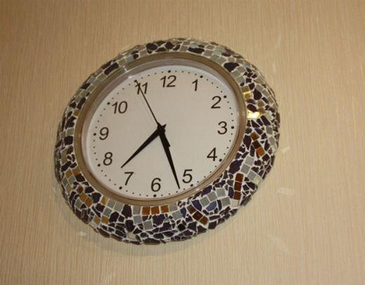 Простые часы своими руками фото