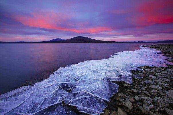 Утро в Национальном парке Зюраткуль, Южный Урал, Россия (604x403, 42Kb)