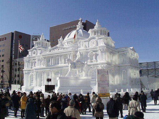 Фестиваль снега и льда в Саппоро, Япония (604x453, 55Kb)