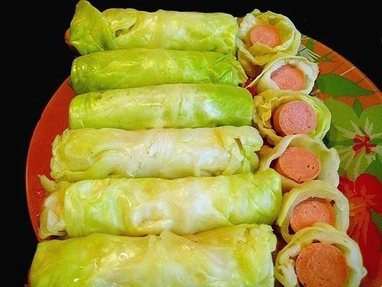 оригинальные блюда из капусты белокочанной