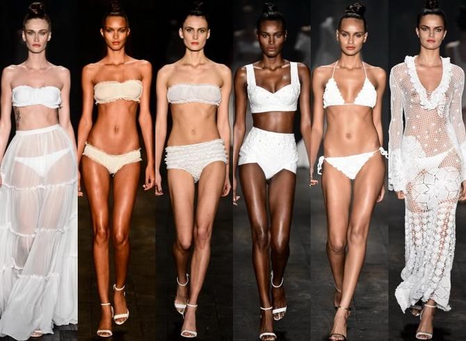 Модели подиума в бикини фото 415-393