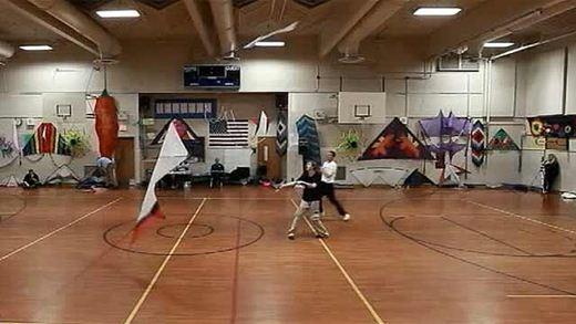 Безветренный фестиваль воздушных змеев прошел в США