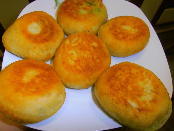 Рецепт: Тесто на картофельном отваре