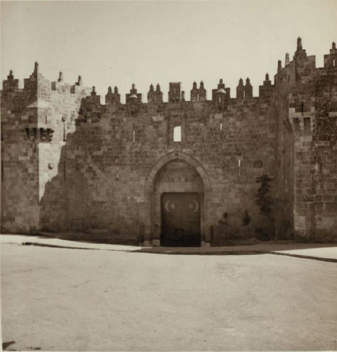 31 Заблокированные Дамасские ворота. 15 октября (669x700, 238Kb)