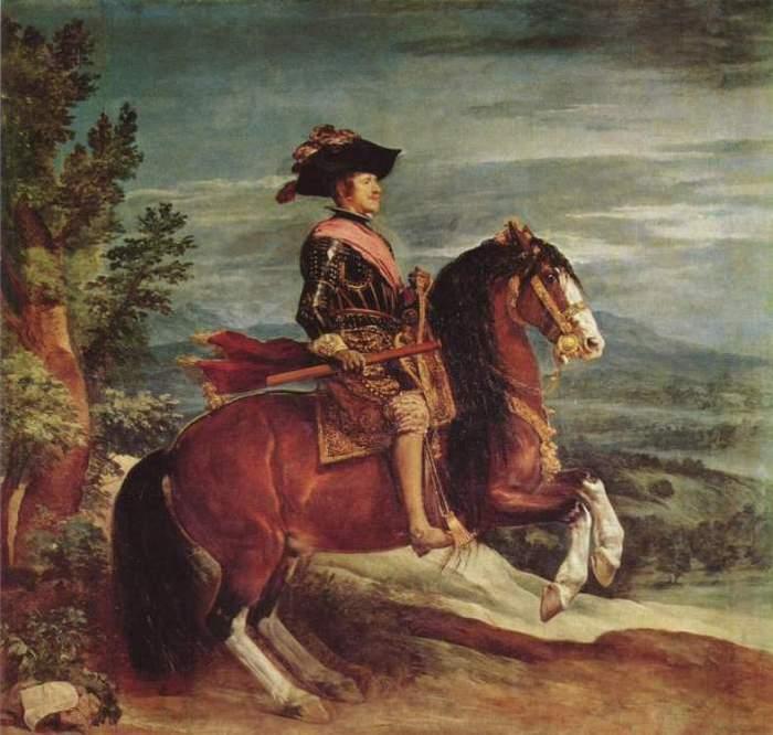 Диего Веласкес, Конный портрет Филиппа IV (2) (700x666, 57Kb)